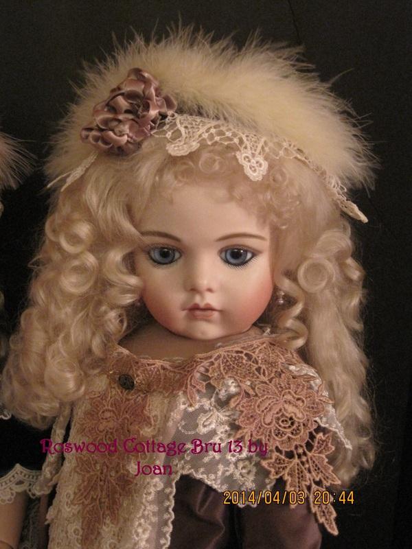 Reproduction Bru Jne Dolls Porcelain Dolls And Lace